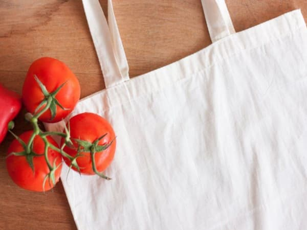 Bolsas de tela para vivir sin plástico