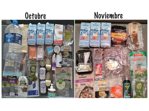 Un mes viviendo sin plástico