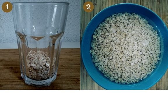 Cómo hacer leche de avena paso a paso