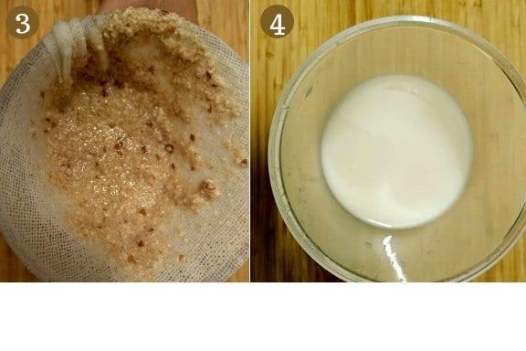 receta para hacer leche de avena