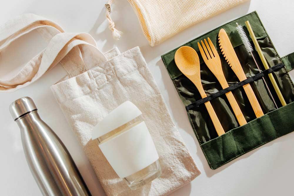 Cómo evitar el plástico fuera de casa
